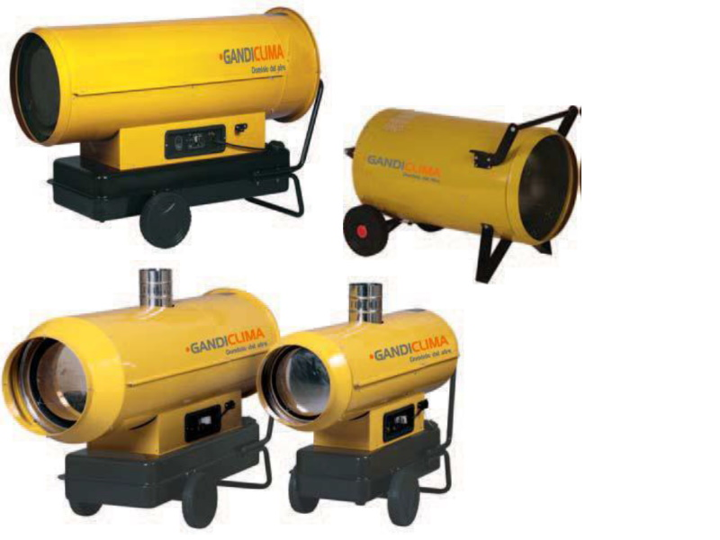 cañones a gas DKG
